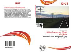 Little Cacapon, West Virginia kitap kapağı