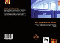 Bookcover of Holland Park tube station