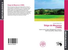 Buchcover von Siège de Mayence (1689)