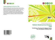 Capa do livro de Italian Submarine Enrico Toti