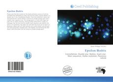 Bookcover of Epsilon Boötis