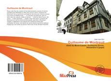 Portada del libro de Guillaume de Montreuil