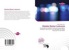 Bookcover of Gaizka Saizar Lekuona