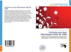 Couverture de Cyclisme aux Jeux Olympiques d'été de 1988