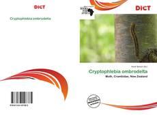 Cryptophlebia ombrodelta kitap kapağı