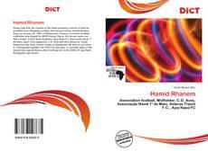 Copertina di Hamid Rhanem