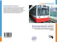 Bookcover of Browning (Amtrak station)