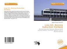 Bookcover of Line S2, Beijing Suburban Railway