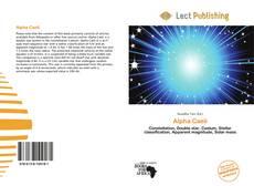 Bookcover of Alpha Caeli