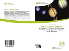 Bookcover of Alpha Camelopardalis