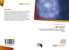 Bookcover of HD 33564