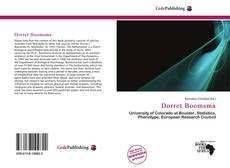 Dorret Boomsma kitap kapağı