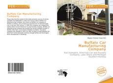 Buffalo Car Manufacturing Company kitap kapağı