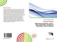 Bookcover of David Fulker