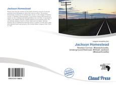 Jackson Homestead kitap kapağı