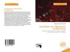 Buchcover von Institute for Women's Leadership