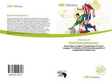 Emil Kenzhesariev kitap kapağı