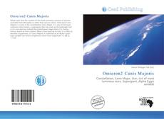 Bookcover of Omicron2 Canis Majoris