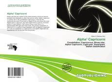 Couverture de Alpha¹ Capricorni