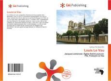 Louis Le Vau的封面