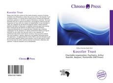 Capa do livro de Koestler Trust