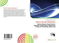 Bookcover of Benin–Russia Relations