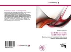 Bookcover of Communication Événementielle