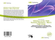Buchcover von Athletics at the 1936 Summer Olympics – Men's High Jump
