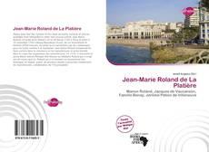 Capa do livro de Jean-Marie Roland de La Platière
