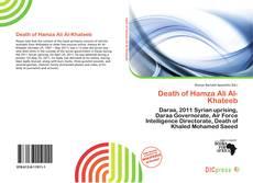 Death of Hamza Ali Al-Khateeb的封面