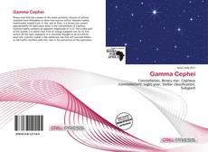 Gamma Cephei kitap kapağı