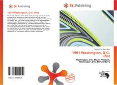 Bookcover of 1991 Washington, D.C. Riot