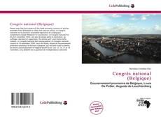 Capa do livro de Congrès national (Belgique)