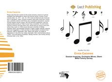 Bookcover of Ernie Caceres