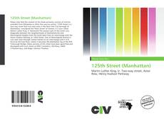 Bookcover of 125th Street (Manhattan)