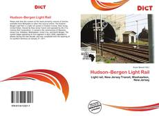 Portada del libro de Hudson–Bergen Light Rail