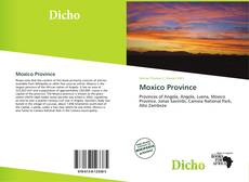 Bookcover of Moxico Province