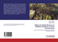 Buchcover von Effect of Cattle Bomas on Wildlife Habitats in Lewa Conservancy
