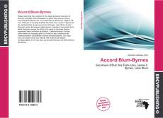 Bookcover of Accord Blum-Byrnes