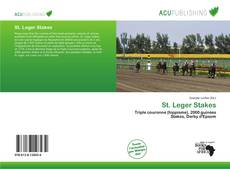 Bookcover of St. Leger Stakes