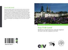 Couverture de Guy X de Laval