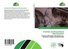 Couverture de Famille de Roquefeuil Blanquefort