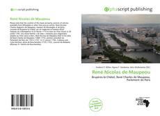 Couverture de René Nicolas de Maupeou