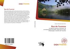 Bookcover of Rue de Turenne