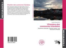 Buchcover von Chambre des communes irlandaise