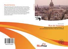 Bookcover of Rue de Varenne