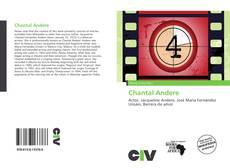 Copertina di Chantal Andere