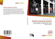 Capa do livro de Amherst (Amtrak station)