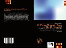 Borítókép a  IX Waffen Mountain Corps oF The SS (Croatian) - hoz