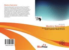 Mastère Spécialisé kitap kapağı
